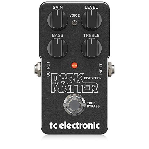 TC Electronic DARK MATTER DISTORTION Pedal de distorsion, 2 band Eq