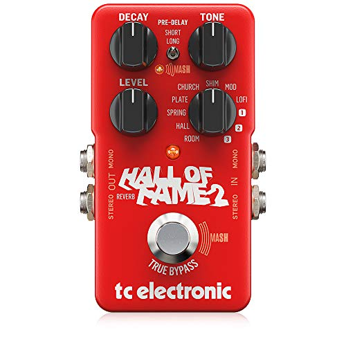 TC Electronic - Pedal de reverb Hall of Fame 2