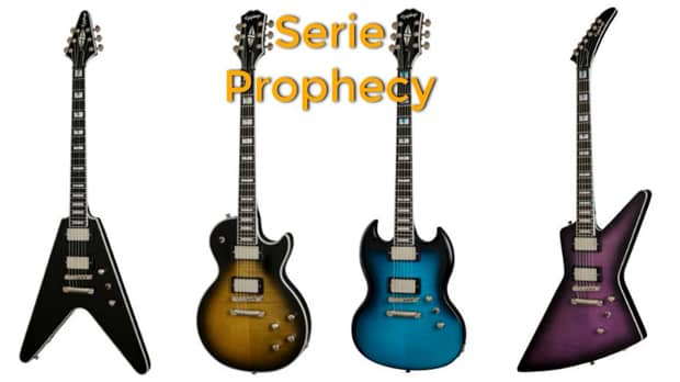 Epiphone Serie Prophecy