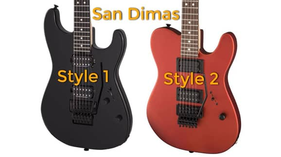Guitarras Charvel San Dimas